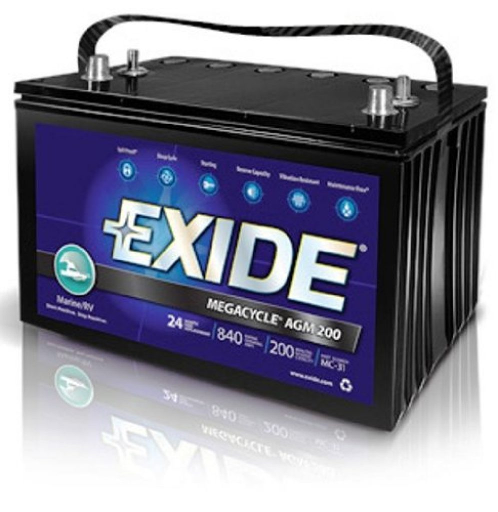 Best Exide XMC-31 MEGACYCLE AGM-200 Sealed Maintenance Free (AGM) Marine Battery Review