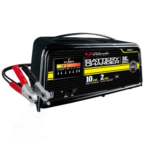 charger battery schumacher manual amp se 1010 volt chargers automatic rust electrolysis removal boat electric traditional marine 6v parts 12v