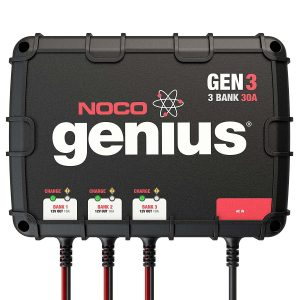 NOCO GENIUS 3-BANK WATERPROOF SMART ON-BOARD BATTERY CHARGER Reviews