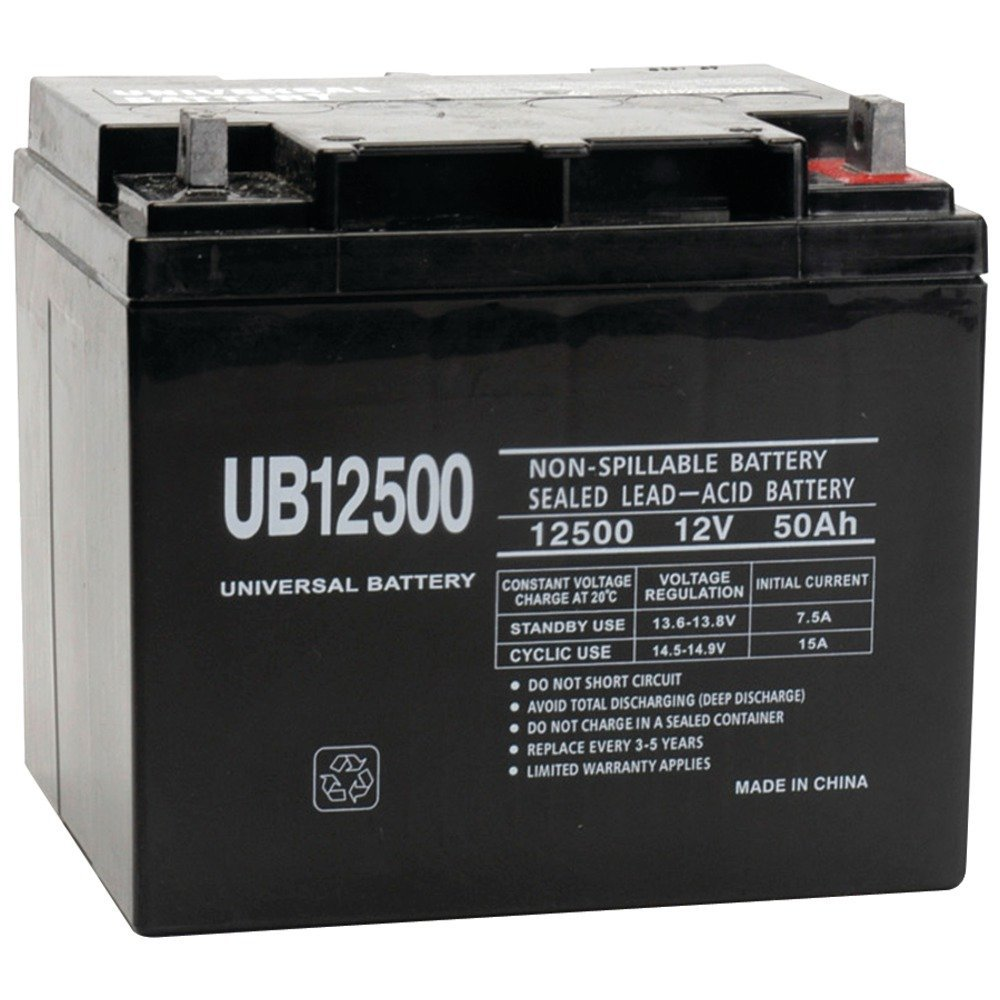 Universal Power Sealed Lead Acid Battery Review