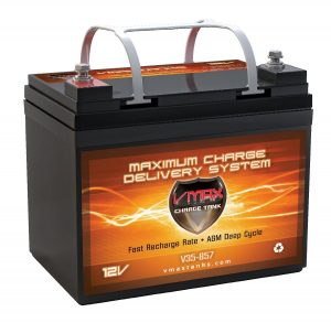 VMAXTANKS Vmax857 Tm AGM 12 Volt 35AH Group U1 Marine Deep Cycle Hi Battery Reviews