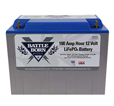 Battle Born LiFePO4 Deep Cycle Battery