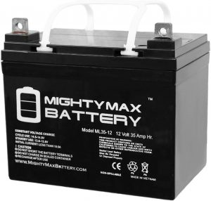 12V 35AH Replacement Battery for Light Trolling Motor