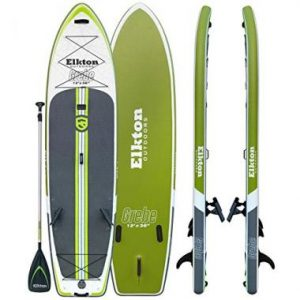 Elkton Outdoors Grebe Fishing Paddle Board