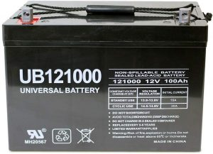 Universal Power Group 12V 100Ah Solar