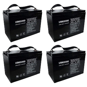 interstate 8 volt golf cart batteries