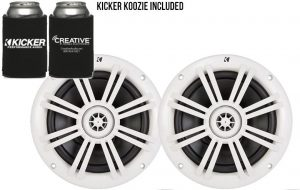 Kicker White OEM Replacement Marine speaker