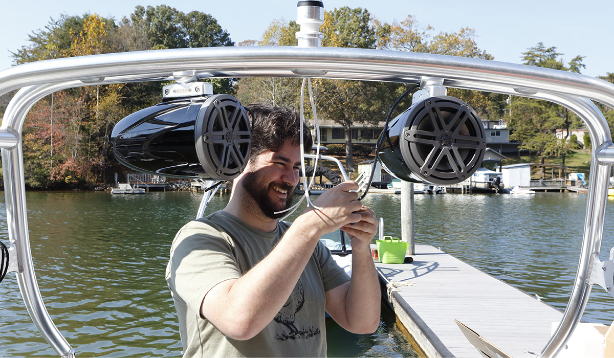 audio quality of boat speakers
