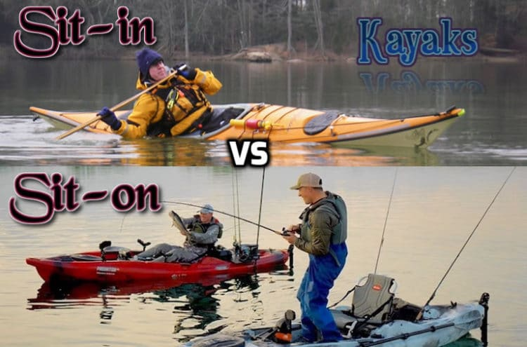 Which one is preferred - Sit-on-top or Sit-in kayak