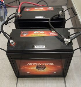 deep cycle battery won't fully charge