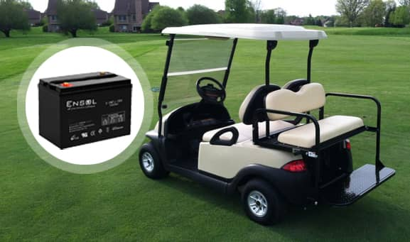 Converting your Golf Cart Battery