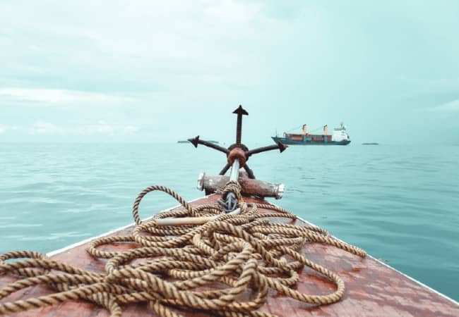Rope On The Anchor